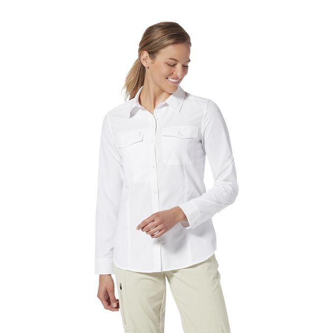 Royal Robbins Bug Barrier Discovery III Pant Khaki, White Women's