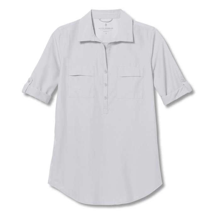 Royal Robbins Expedition II Tunic White Women's