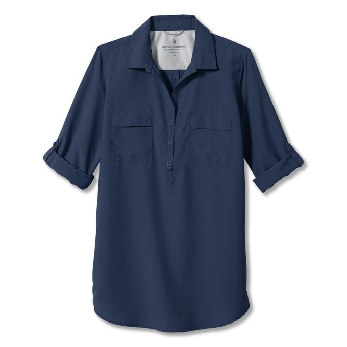 Royal robbins Expedition Tunic Blue Women's