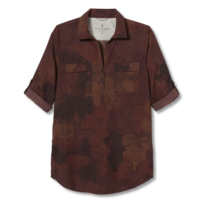 Royal Robbins Expedition Tunic Brown Women's