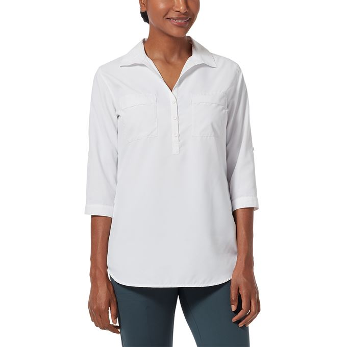 Royal Robbins Expedition Tunic White Women's