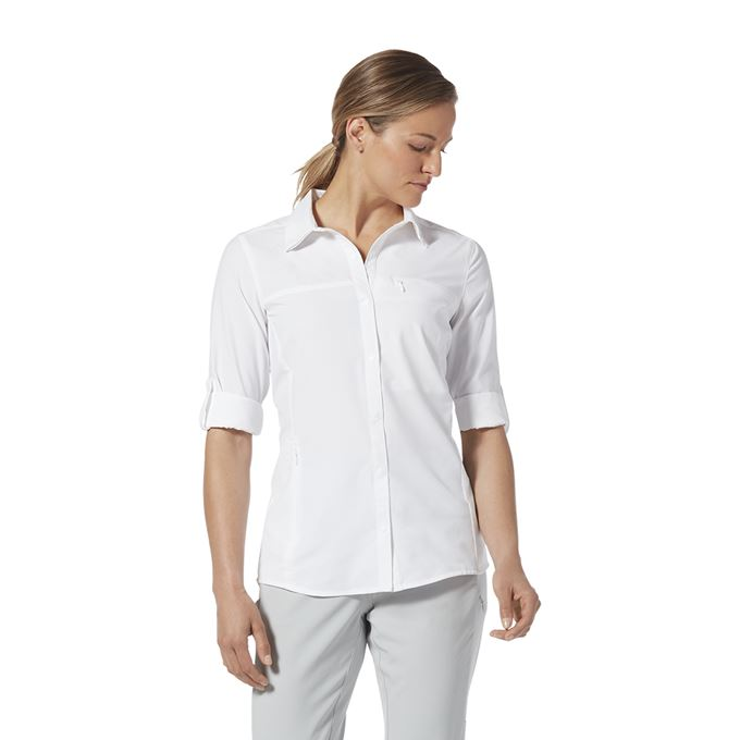 Royal Robbins Expedition Pro L/S White Women's