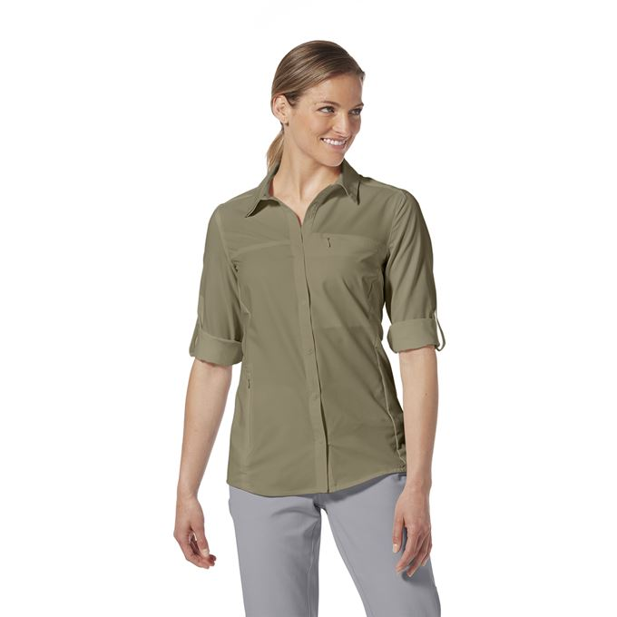 Royal Robbins Expedition Pro L/S Grey Women's