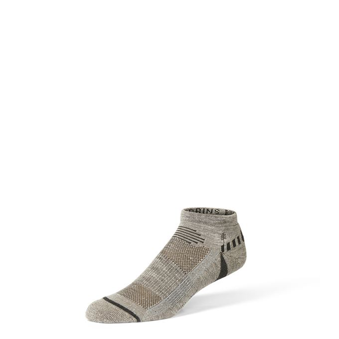 Royal Robbins Bug Barrier Unisex Quarter Sock Grey, Blue Unisex
