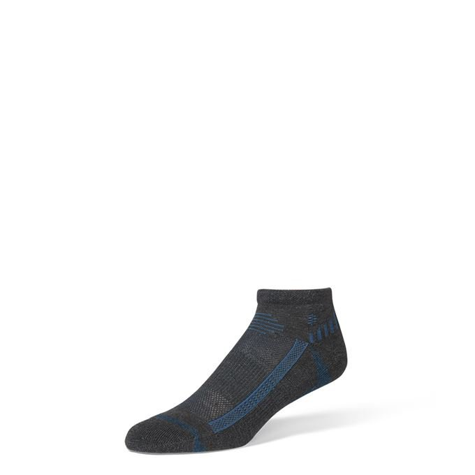 Royal Robbins Bug Barrier Unisex Quarter Sock Grey Unisex