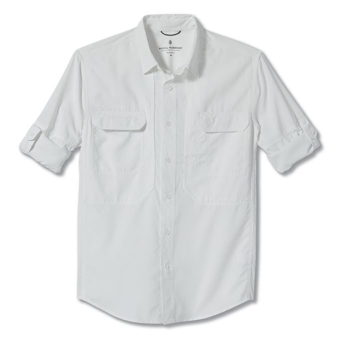 Royal robbins Expedition Chill Long Sleeve White Men's