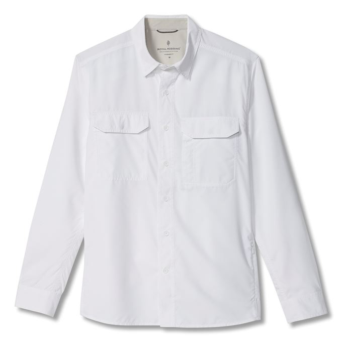 Royal Robbins Global Expedition II L/S White Men's