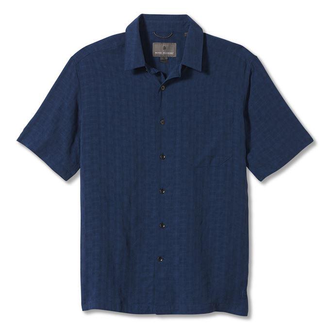 Royal robbins San Juan Dry S/S Blue Men's