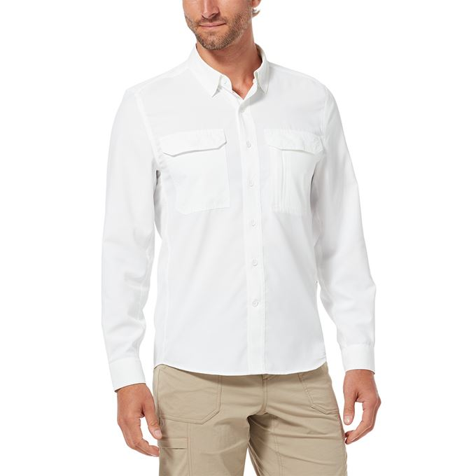 Royal Robbins Global Expedition L/S White Men's