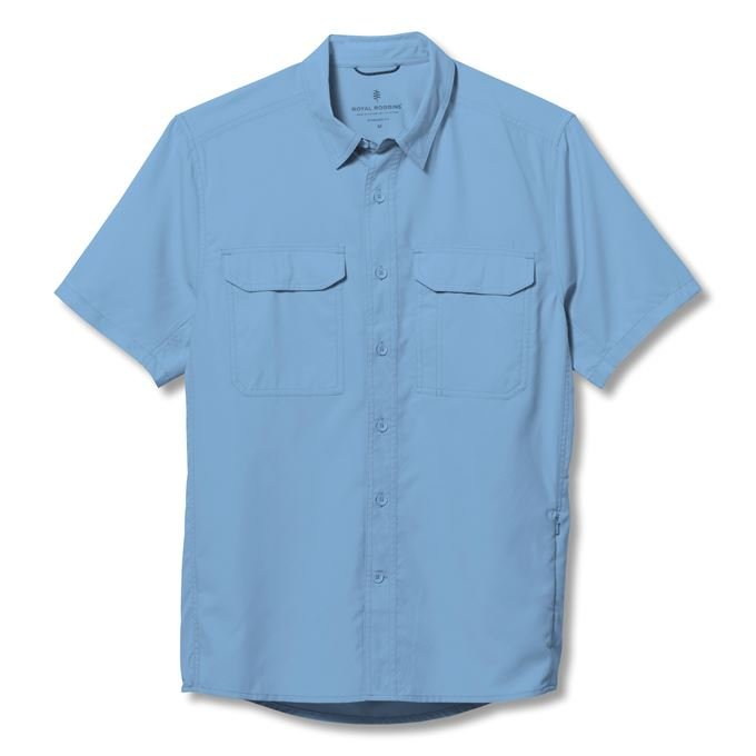 Royal Robbins Global Expedition II S/S Blue Men's