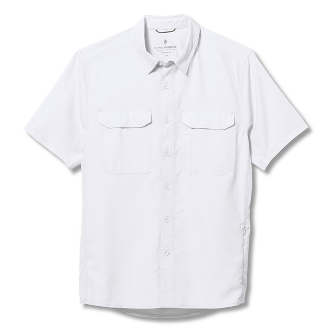 Royal Robbins Global Expedition II S/S White Men's