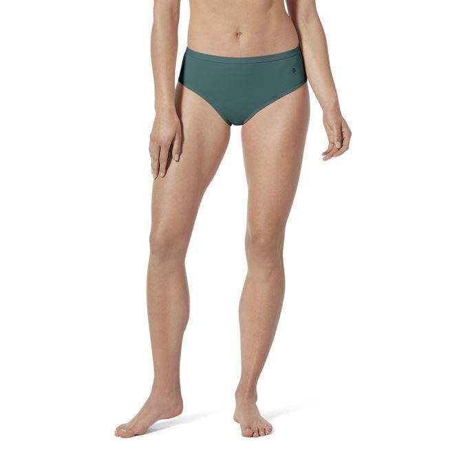 Royal Robbins Women's Underwear Pink, Blue, Green Model Close-up