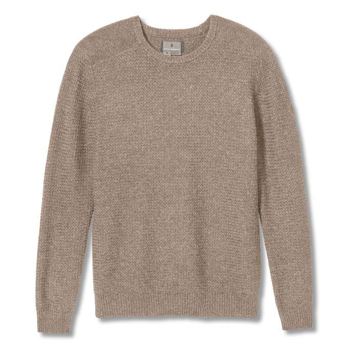 Royal Robbins All Season Merino Sweater Men's Sweaters Beige Main Front