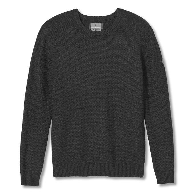 Royal Robbins All Season Merino Sweater Men's Sweaters Grey Main Front