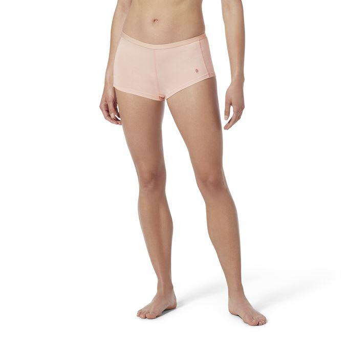 Royal Robbins Women's Underwear Pink, Pink Model Close-up