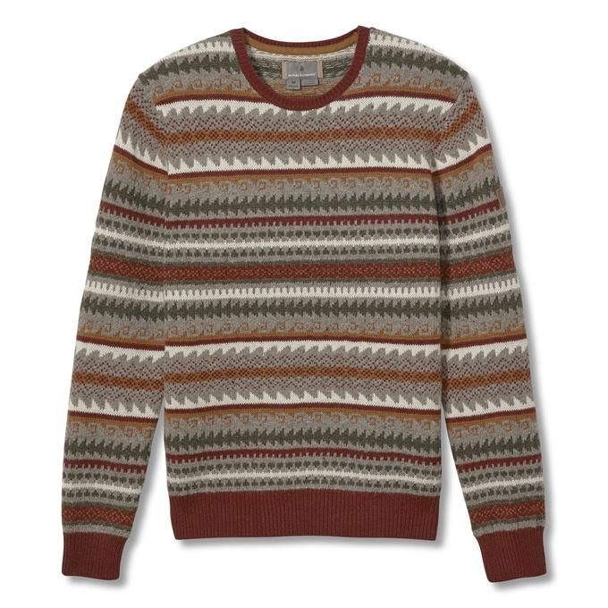 Royal Robbins Sequoia Sweater Men's Sweaters Red Main Front