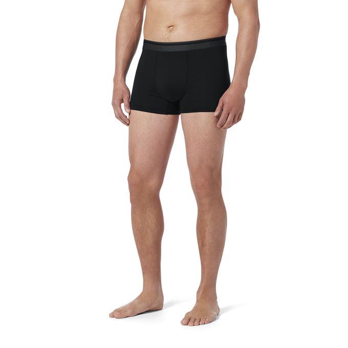 Royal Robbins Men's Underwear Black Model Close-up