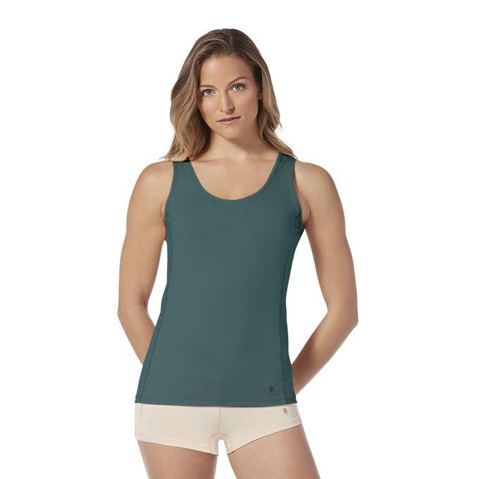 Royal Robbins Women's Underwear Blue, Green, Pink Model Close-up